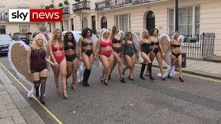'We're all angels' - lingerie models hit back against Victoria's Secret