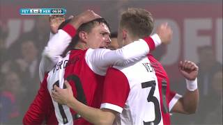 Samenvatting | Feyenoord - Heracles Almelo (KNVB Beker)