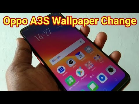 How to change wallpapers theme in Oppo A3S
