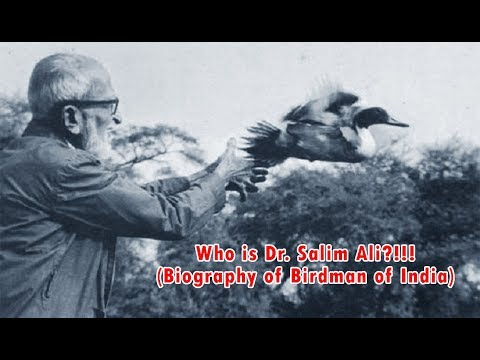 The Birdman of India - Dr. Salim Ali | Biography Video | WGWCT