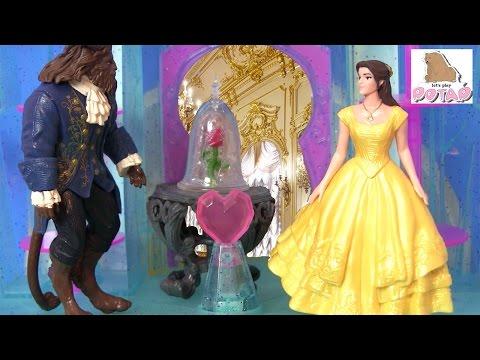 Красавица и Чудовище 2017! УЖИН! Beauty And The Beast! Видео для Детей. Принцессы Диснея Мультики