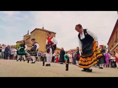 Baile de la botella.Villamandos.Folclore