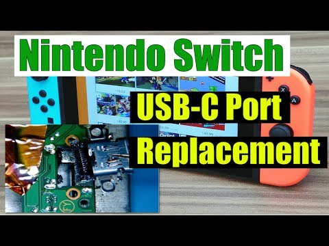 Nintendo Switch USB-C Port Replacement