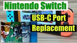 Nintendo Switch USB-C Port Replacement