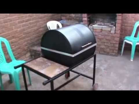 How To Make A Grill Bbq Braai Youtube