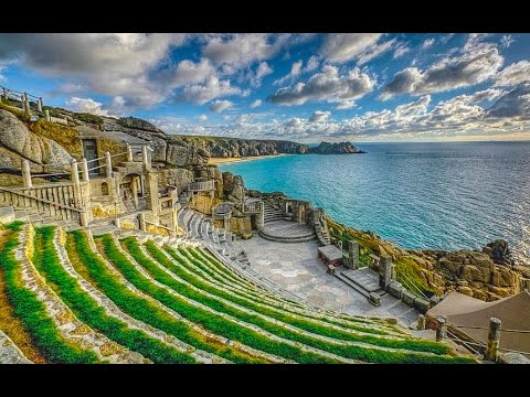 A Walk Around The Minack Theatre,  Porthcurno, Cornwall, England