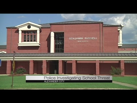 Threat at Benjamin Russell High School