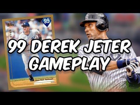99 DEREK JETER - CREATE A CARD - MLB 17 THE SHOW DIAMOND DYNASTY