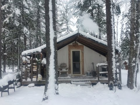 THE TENT. Winter Trip 2016.