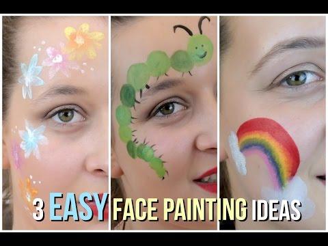 3 Easy Face Painting Ideas That Your Kids Will Love!
