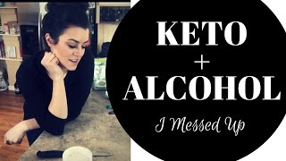 Keto + Alcohol  Keto Meatloaf  Twice Baked Cauli Potatoes  Intermittent Fasting Day 7