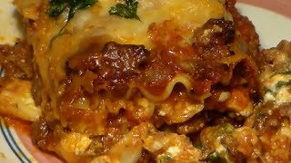 Worlds BEST EVER Italian Lasagna Recipe: How To Make Delicious Meat Lasagna