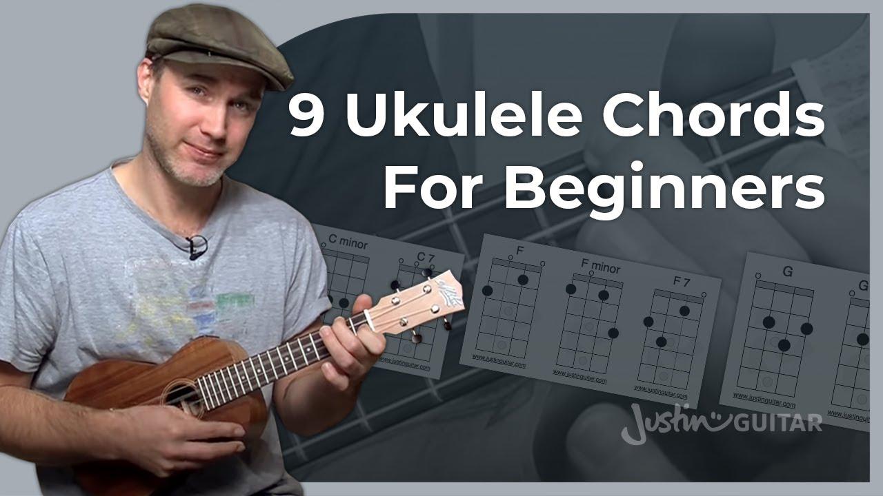 Ukulele Lesson 2 Uke Open Chords C Cm C7 F Fm F7 G Gm G7