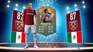 "NEW FLASHBACK SBC! - 87 JAVIIER ""CHICHARITO"" HERNANDEZ! - FIFA 19 Ultimate Team"