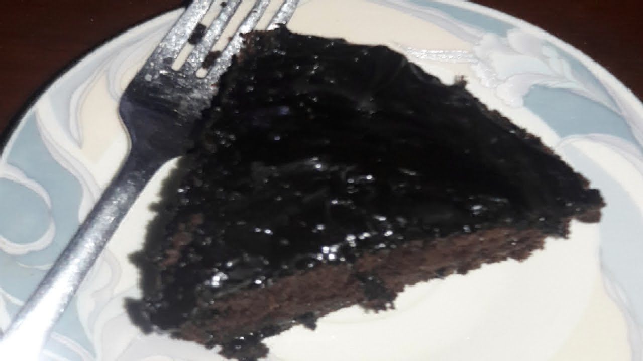 Moist Chocolate cake without oven recipe/ May na banaya ...