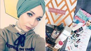 Unboxing Peekabox, Malaysia's First Beauty Box | NABIILABEE