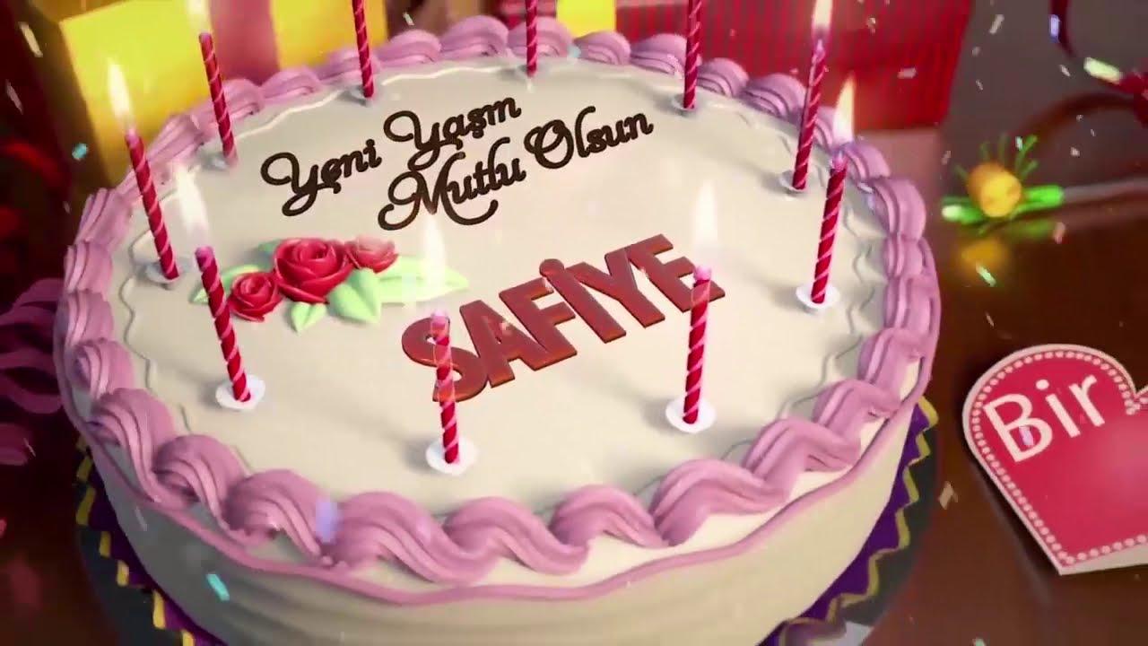 İyi ki doğdun SAFİYE - İsme Özel Doğum Günü Şarkısı