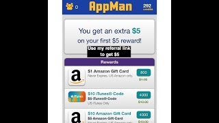 AppMan app  it's a great way to earn money (IOS, Android) - Use My Referral Link to Get $5