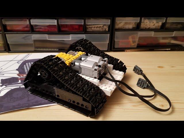 Building a  Lego Bobcat T450 Compact Trackloader [2]