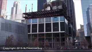 UPDATE! One World Trade Center / Three World Trade Center 4/2/2015 construction progress part 1