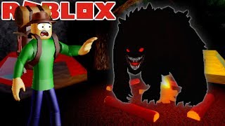 WILL CAMPING BALDI SURVIVE THE IMMENSE WEREWOLF?! | Roblox Camping : Road Trip