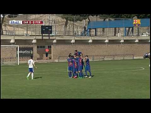 [HIGHLIGHTS] FUTBOL (Juvenil): Zaragoza - FC Barcelona  (1-1)