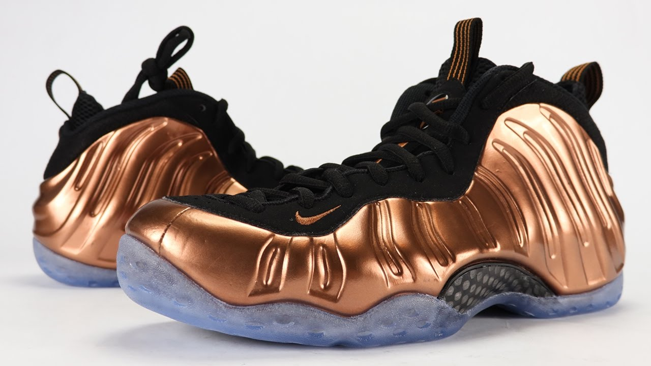 3a4ac7de534 Nike Air Foamposite One Copper 2017 Review + On Feet - YouTube