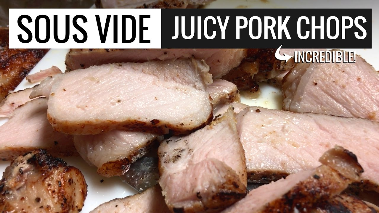 Pork Chops Sous Vide By Sous Vide Everything Perfect Pork Chops Youtube