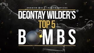Top 5 Deontay Wilder 💣