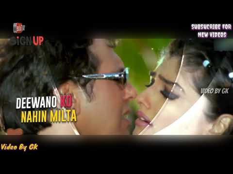 Yaha pyar kisise karna aasan  nahi hai kam  💃💃🕺🕺  lyrical songs Whatsapp status video by Gk