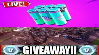 🔴 *NEW* FORTNITE CHUG SPLASH! 10K VBUCKS GIVEAWAY TO NEW SUBSCRIBERS!