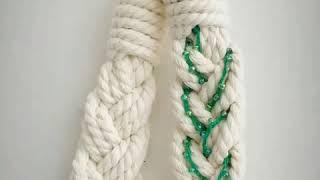 마크라메 커튼집게 커튼타이백 코사지 집꾸미기 커텐 묶기…