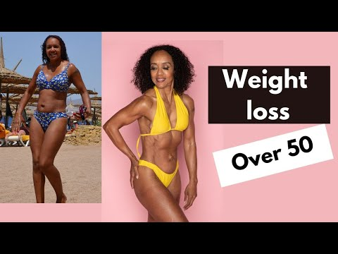 Weight loss over 50 female: Menopause exercise weight loss