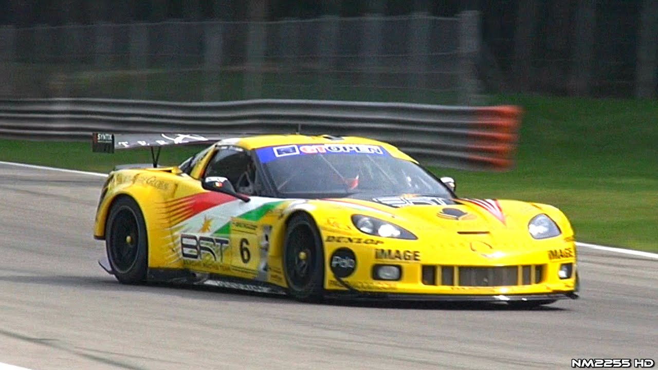 Corvette C7 Zr1 >> Corvette C6.R GT2 Awesome Sounds on the Track! - YouTube