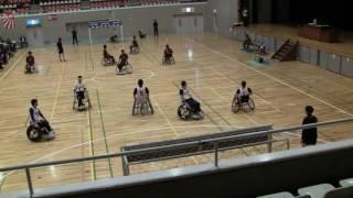 第14回日本車椅子ハンドボール競技大会 ドリーマーズVS宮城フェニックス
