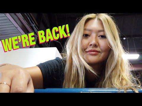 We're Back!  Vlog and St. Vincent DePaul Thrift Haul