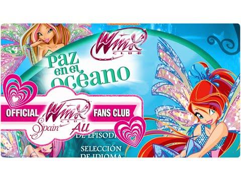 4th DVD Menu Winx Club Season 5 [Latin Spanish]
