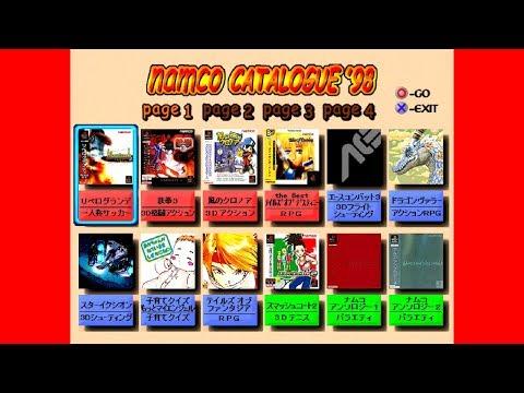 ナムコカタログ'98 - リベログランデ,鉄拳3,風のクロノア - R4(DISC2)