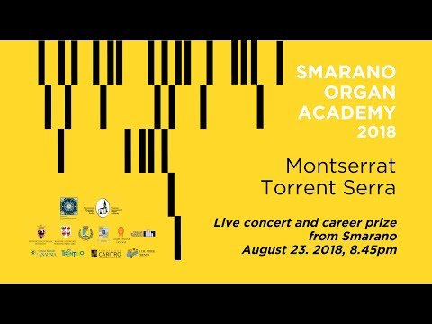 Montserrat Torrent Serra - organ concert live from Smarano