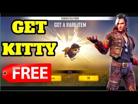 How To Unlock Kitty Pet In Free Fire Get Free Kitty In Free Fire Garena Free Fire Youtube