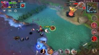 Heroes of order & chaos . Kagax gameplay . Full talent n tabs .