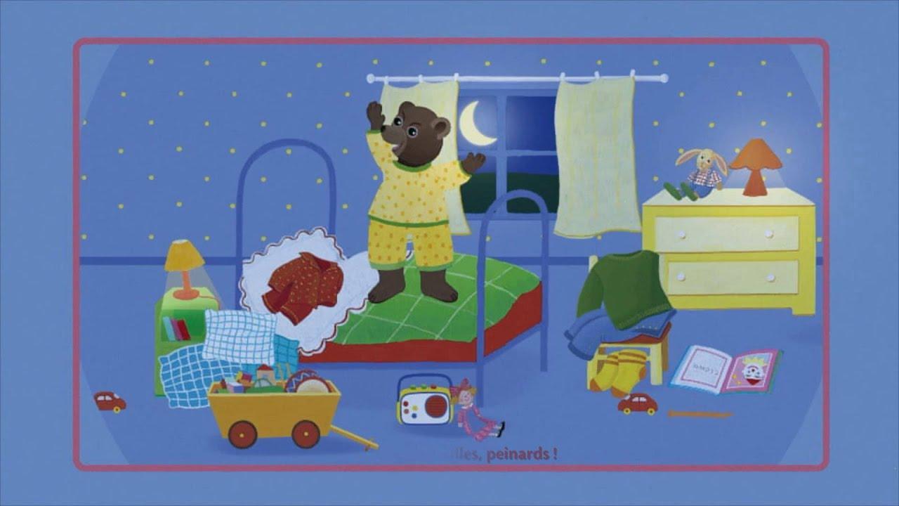 Petit ours brun bonne nuit histoire chanson youtube - Petit ours brun a l ecole ...