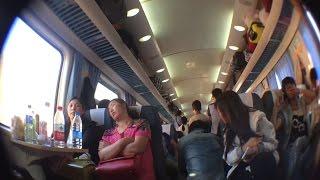 【中国旅行記、China Travel】2015年8~9月⑲、蘭州~上海へ席無しで1泊2日の列車の旅編【乗り鉄・ニコ生風】