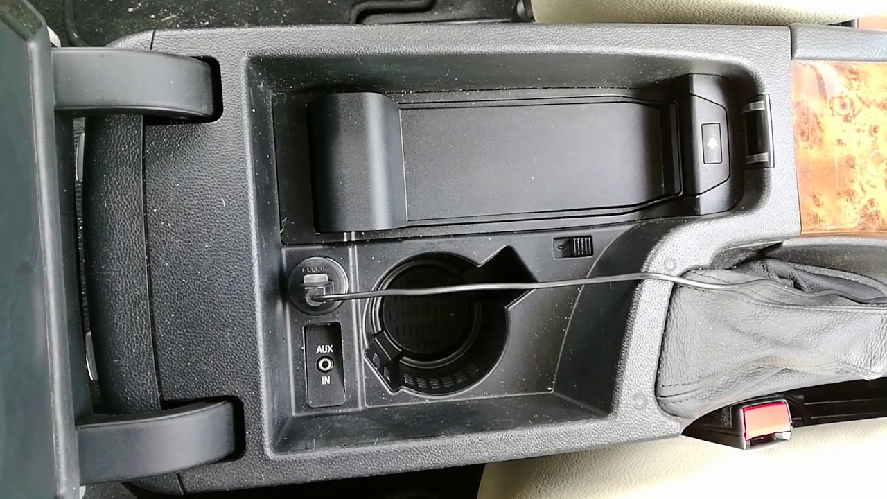 hight resolution of bmw aux port problem and fix