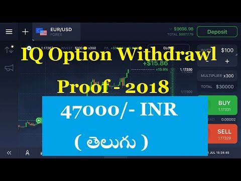 Iqoption Withdrawl proof 47000/- INR part3 | Binary Options Telugu
