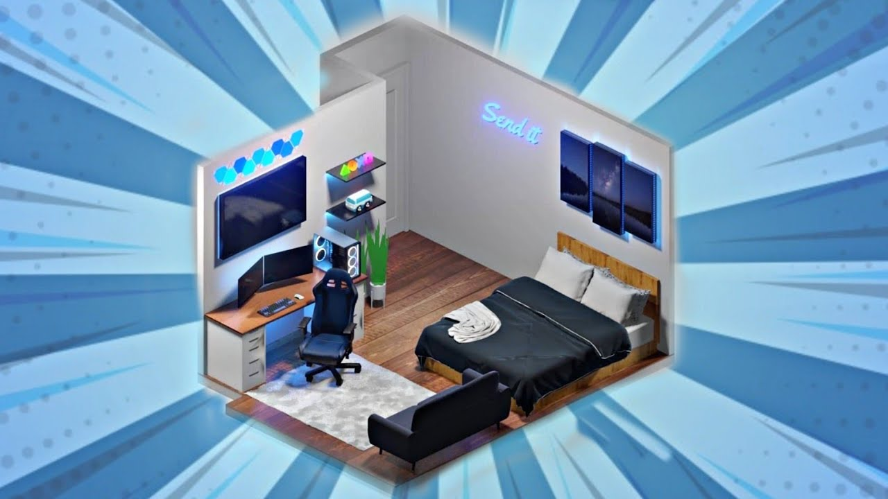 Small Gaming Room Setup Idea 2020 For Small Rooms 3d Design Part 42 Youtube Designing your games room is one of life's great pleasures. small gaming room setup idea 2020 for small rooms 3d design part 42