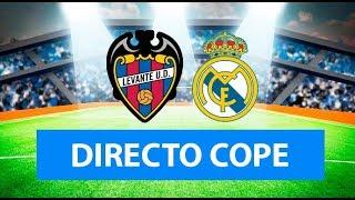 (SOLO AUDIO) Directo del Levante 1-2 Real Madrid en Tiempo de Juego COPE