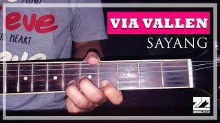VIA VALLEN - SAYANG   Instrumen Melodi Tutorial