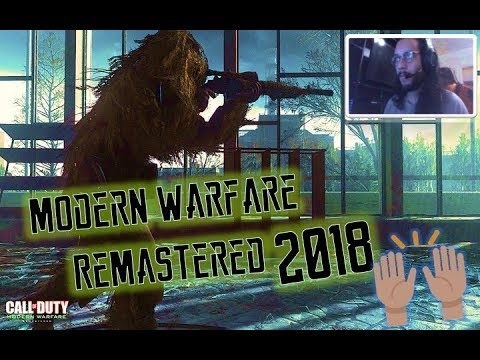 Call of Duty Modern Warfare Remastered in 2018 (REALLY GOOD) | COD MWR