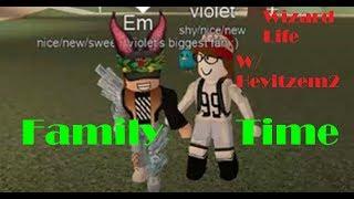 Family Time Roblox Wizard Life w/ Heyitzem2